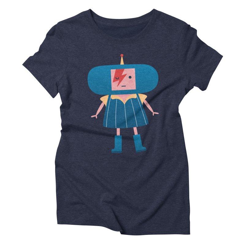 David Bowie Katamari Crossover Women's Triblend T-Shirt by Kadusaurus's Shop