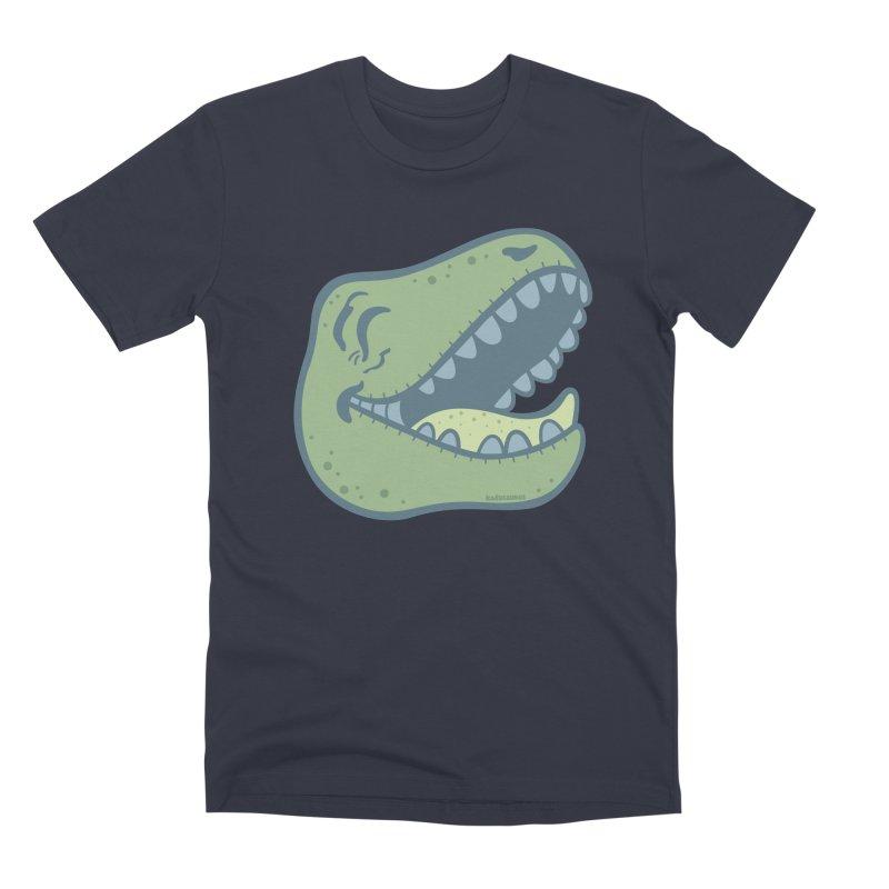 Laughing Dinosaur Men's Premium T-Shirt by Kadusaurus's Shop