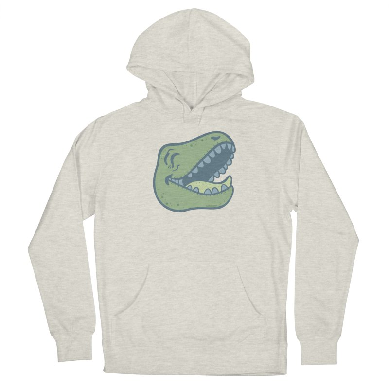 Laughing Dinosaur Women's French Terry Pullover Hoody by Kadusaurus's Shop