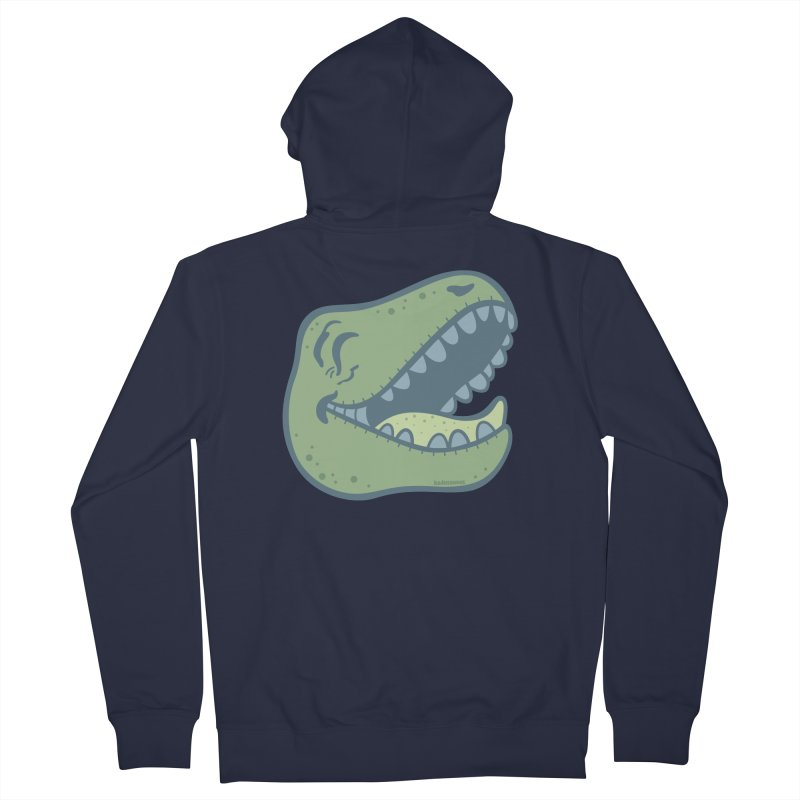 Laughing Dinosaur Women's French Terry Zip-Up Hoody by Kadusaurus's Shop
