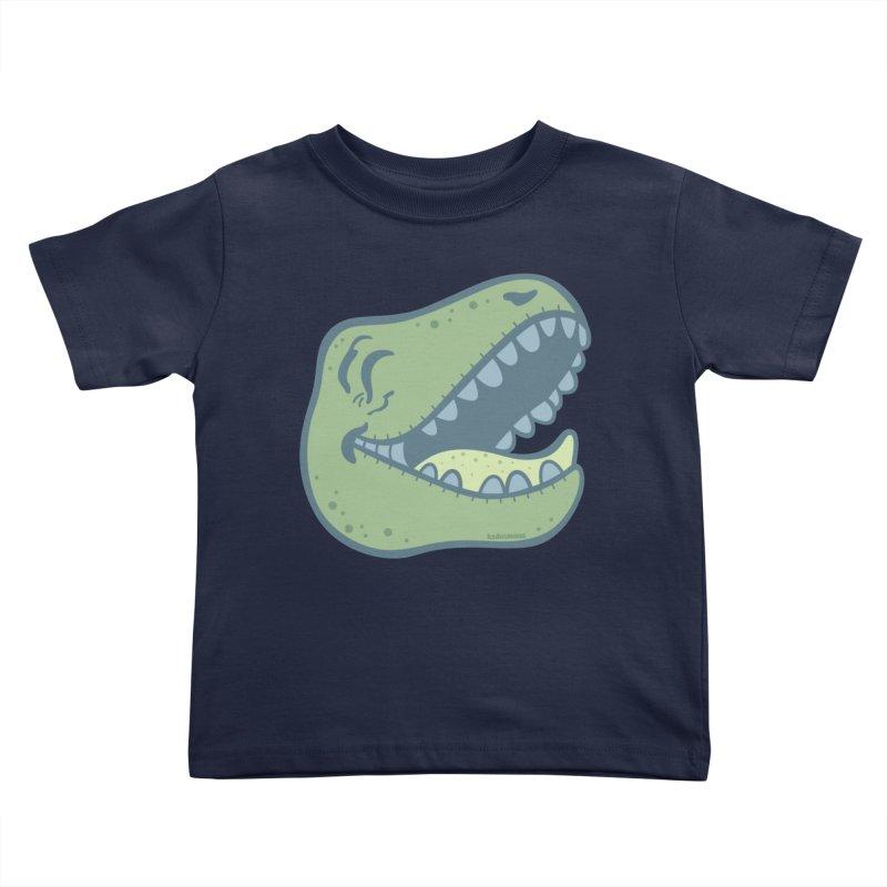 Laughing Dinosaur Kids Toddler T-Shirt by Kadusaurus's Shop