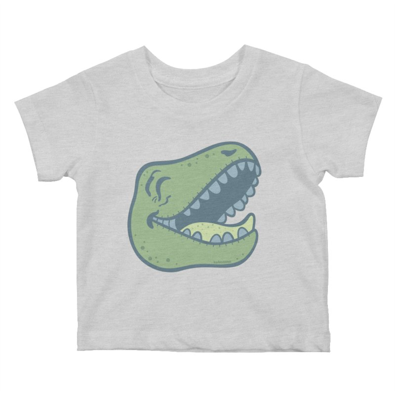 Laughing Dinosaur Kids Baby T-Shirt by Kadusaurus's Shop