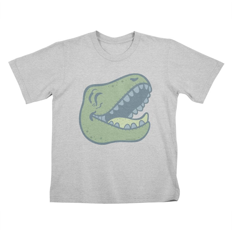 Laughing Dinosaur Kids T-Shirt by Kadusaurus's Shop