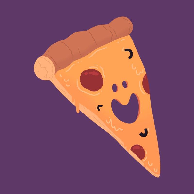Happy Cheesy Pizza Women's Tank by Kadusaurus's Shop