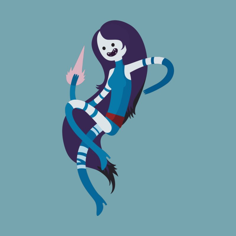 Marceline Psylocke Crossover Fanart Home Throw Pillow by Kadusaurus's Shop