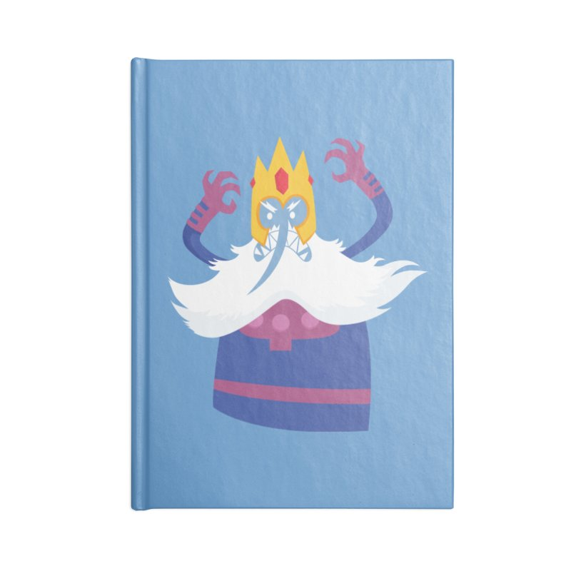 Ice King Magneto Crossover Fanart Accessories Notebook by Kadusaurus's Shop