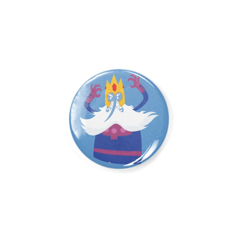 Ice King Magneto Crossover Fanart Accessories Button by Kadusaurus's Shop