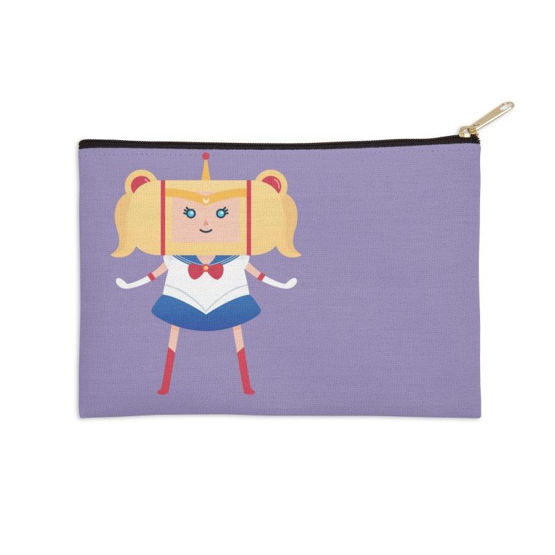 Sailor Moon Katamari Crossover Accessories Zip Pouch by Kadusaurus's Shop