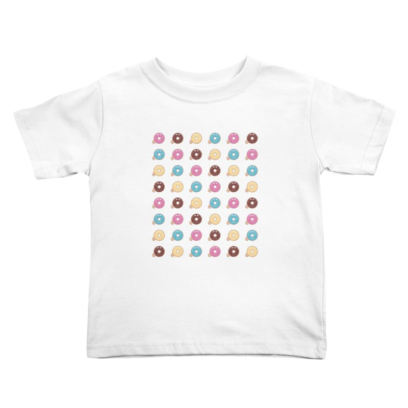 Jabba the Donut Kids Toddler T-Shirt by Kadusaurus's Shop