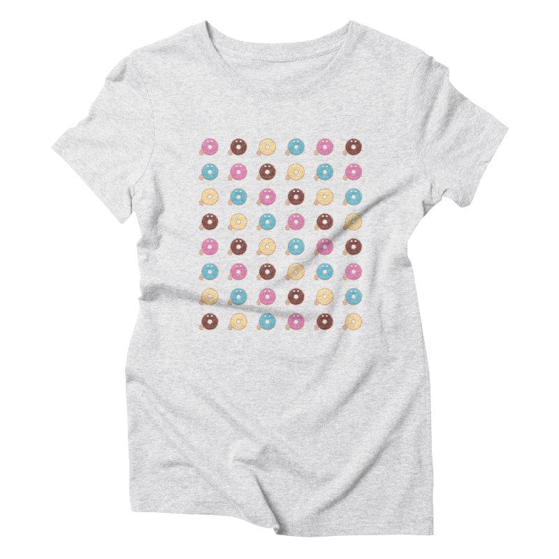 Jabba the Donut Women's Triblend T-Shirt by Kadusaurus's Shop