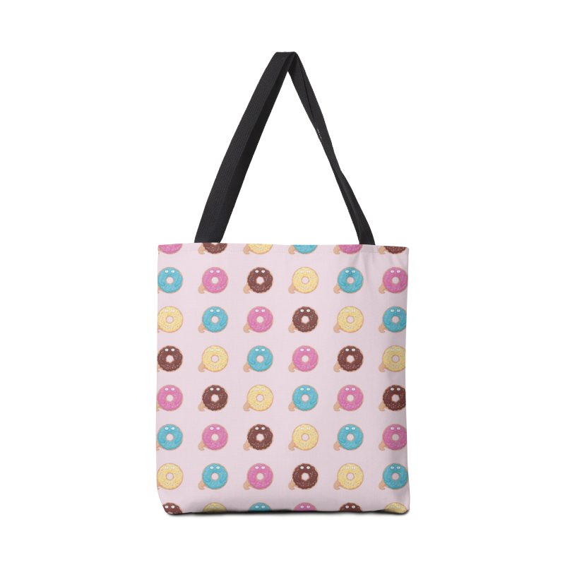 Jabba the Donut Accessories Tote Bag Bag by Kadusaurus's Shop