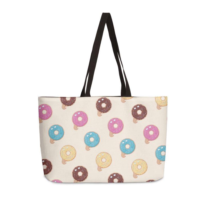 Jabba the Donut Accessories Weekender Bag Bag by Kadusaurus's Shop