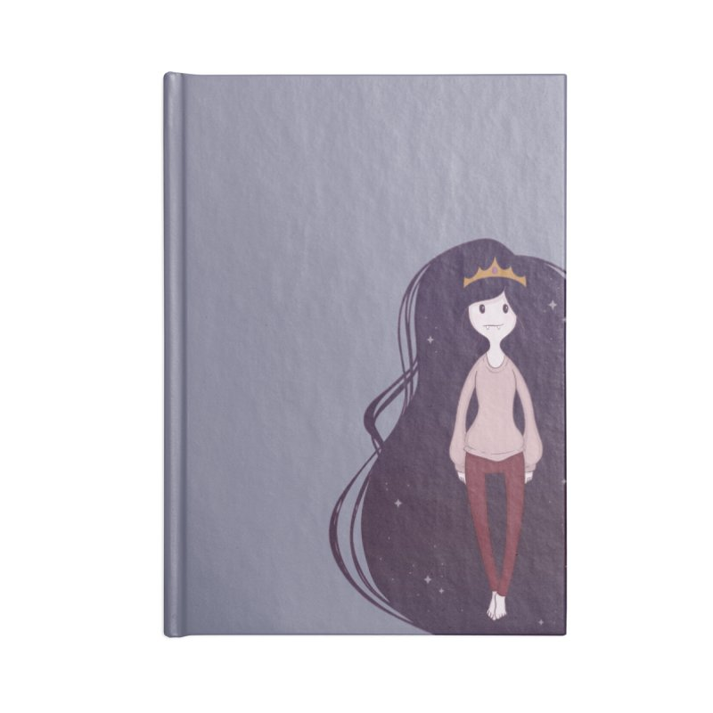 Marcy in Space Accessories Lined Journal Notebook by Kadusaurus's Shop