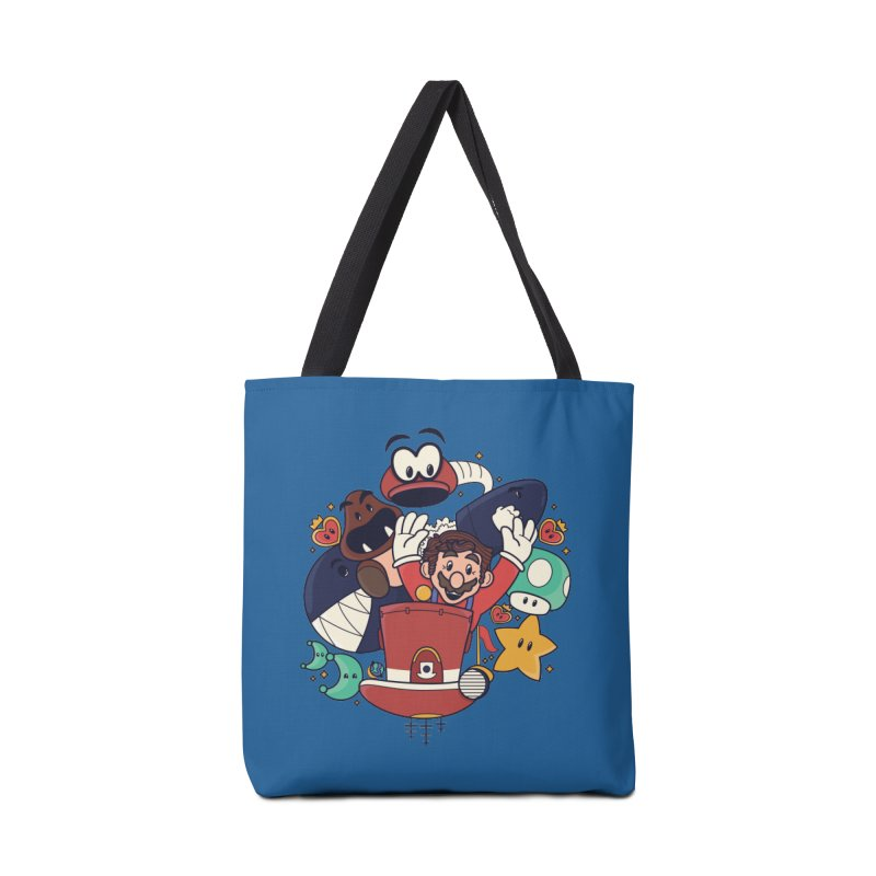 Mario Switch-in It Up Accessories Tote Bag Bag by Kadusaurus's Shop