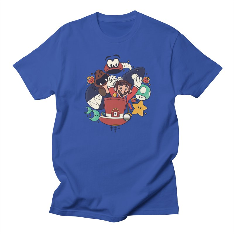 Mario Switch-in It Up Men's Regular T-Shirt by Kadusaurus's Shop