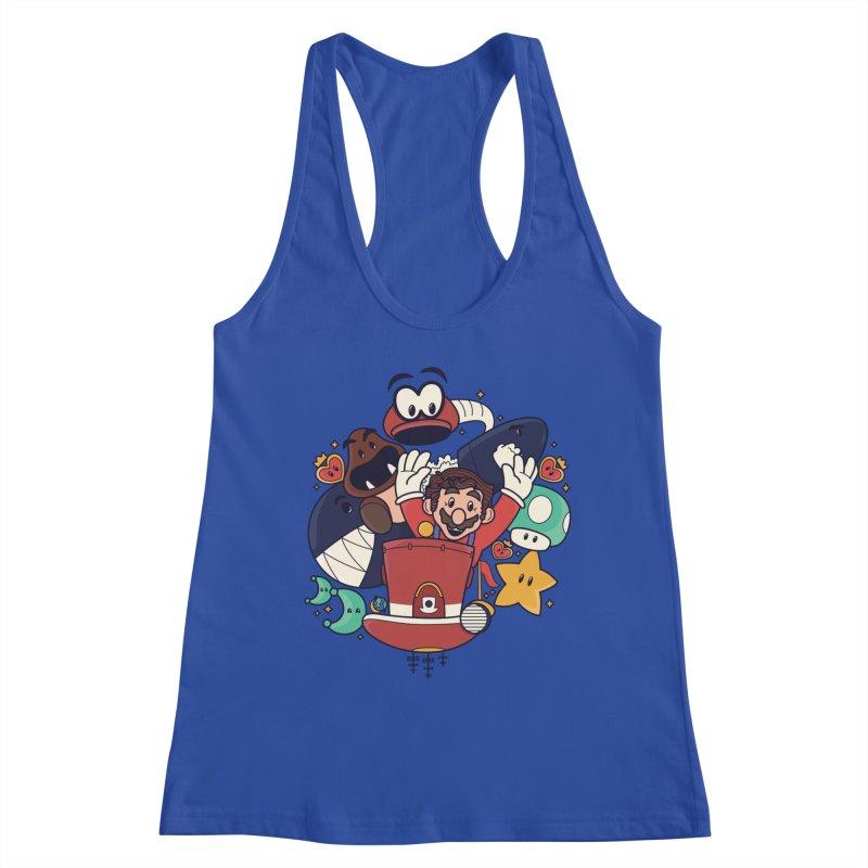 Mario Switch-in It Up Women's Tank by Kadusaurus's Shop