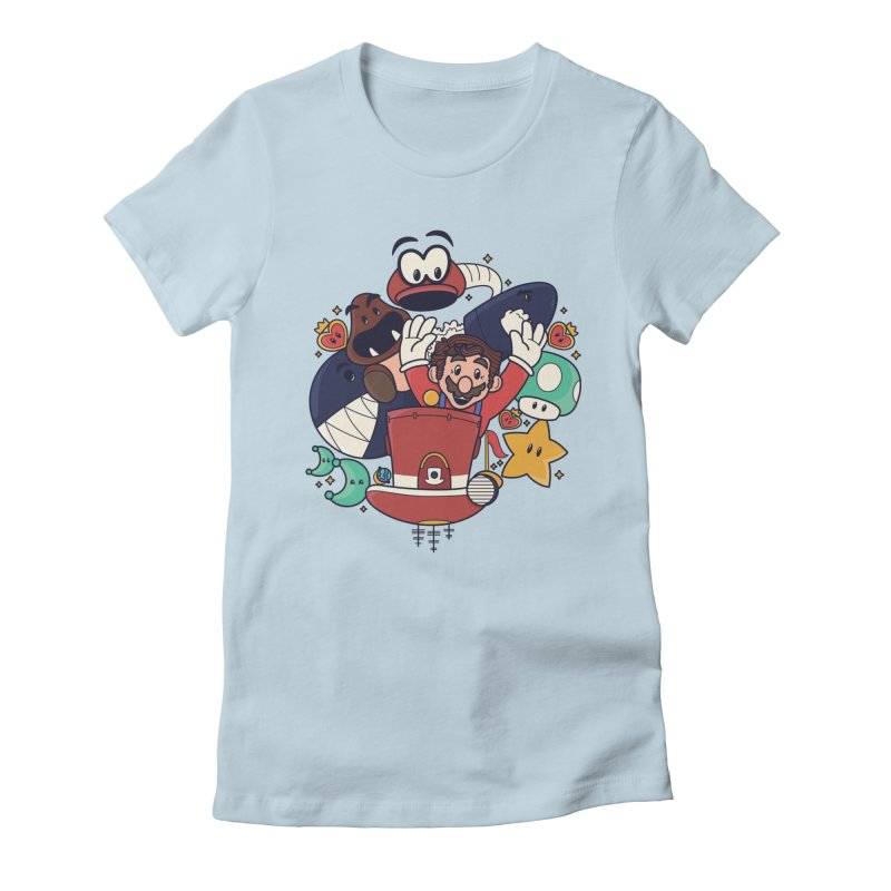 Mario Switch-in It Up Women's T-Shirt by Kadusaurus's Shop