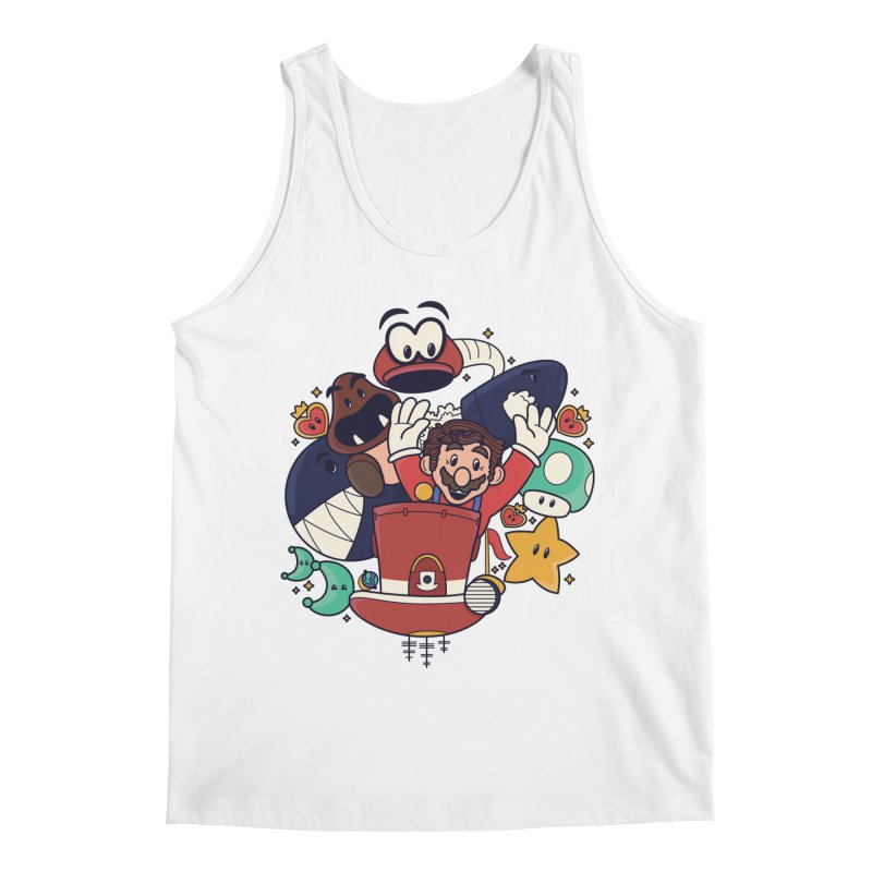 Mario Switch-in It Up Men's Regular Tank by Kadusaurus's Shop