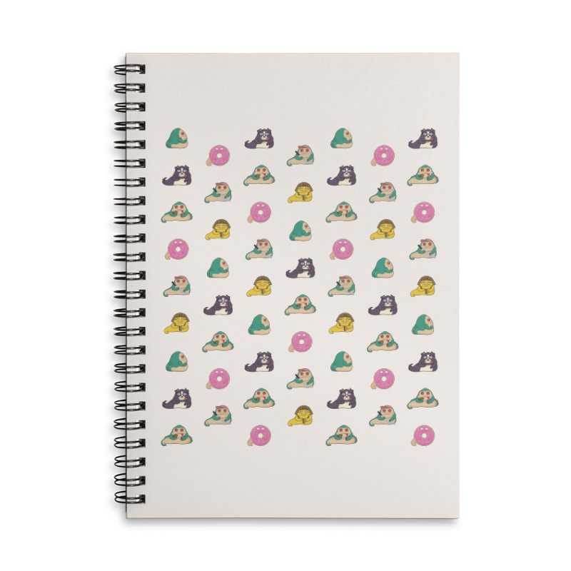 Jabba the What Accessories Lined Spiral Notebook by Kadusaurus's Shop