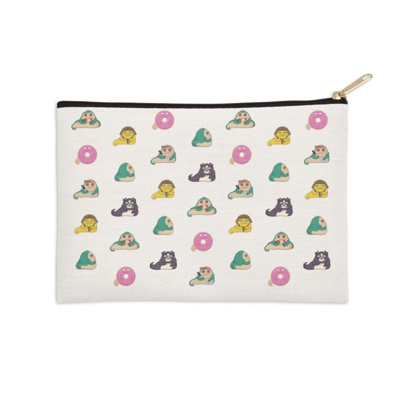 Jabba the What Accessories Zip Pouch by Kadusaurus's Shop