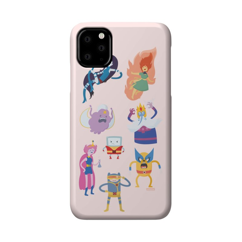 X-Time Adventure Crossover Accessories Phone Case by Kadusaurus's Shop