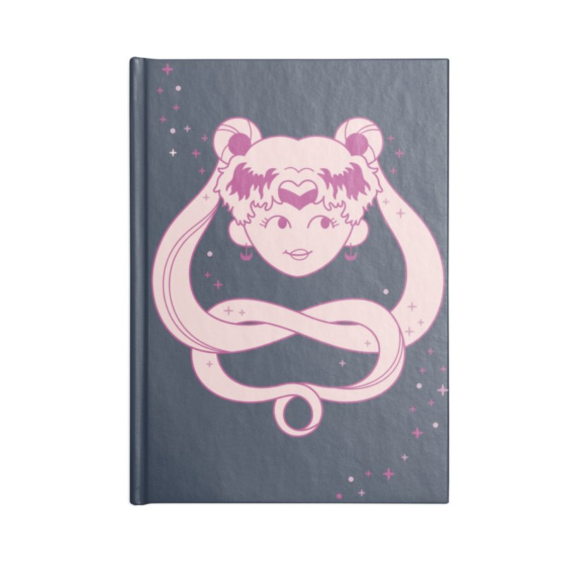 Lunar Sailor Scout Accessories Blank Journal Notebook by Kadusaurus's Shop