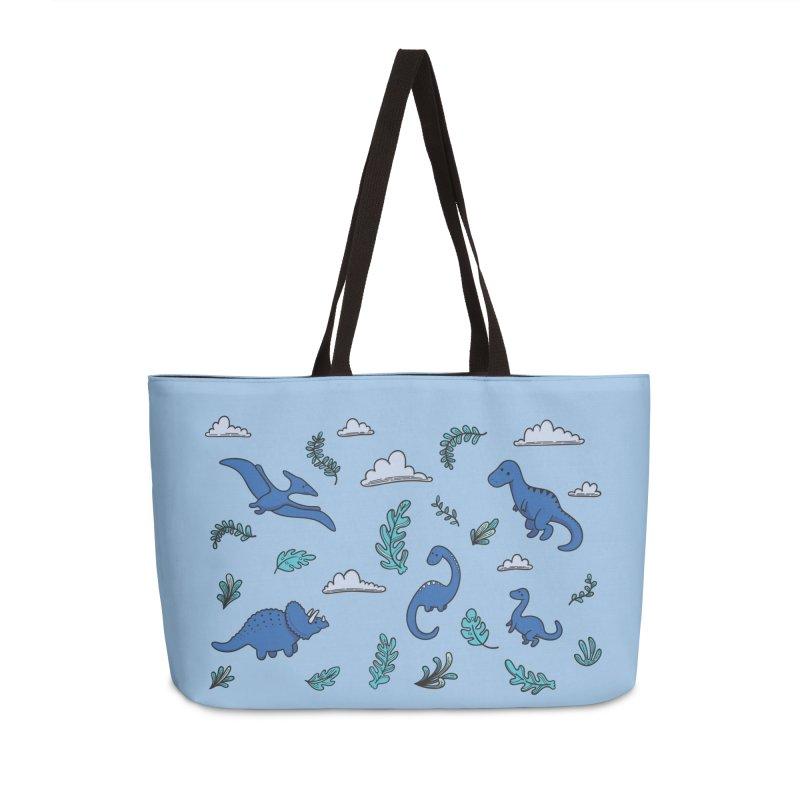 Prehistoric Cute Accessories Weekender Bag Bag by Kadusaurus's Shop