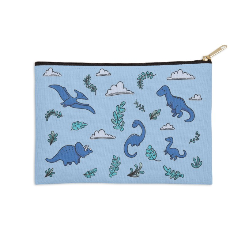 Prehistoric Cute Accessories Zip Pouch by Kadusaurus's Shop