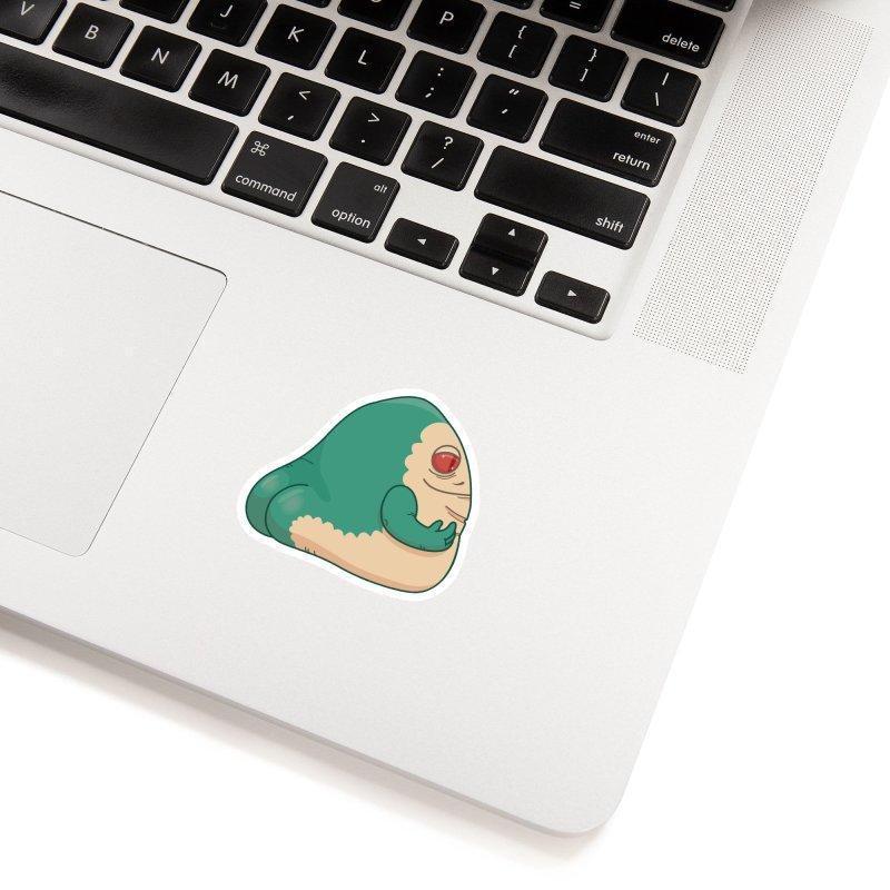 Jabba the Butt Accessories Sticker by Kadusaurus's Shop