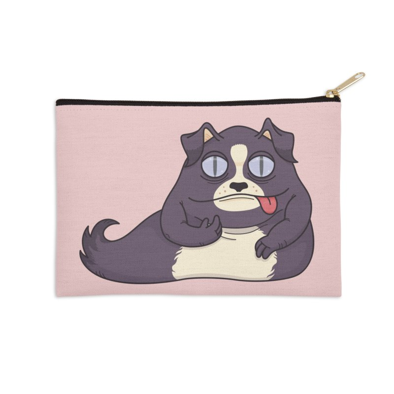 Jabba the Mutt Accessories Zip Pouch by Kadusaurus's Shop