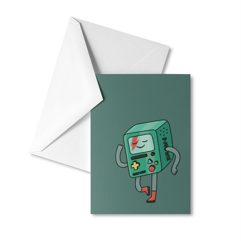 B Mowie Accessories Greeting Card by Kadusaurus's Shop