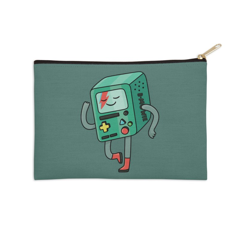 B Mowie Accessories Zip Pouch by Kadusaurus's Shop