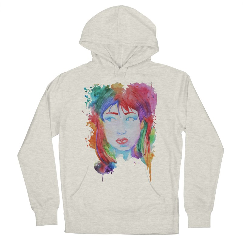 Electric Gal Women's French Terry Pullover Hoody by Kaela's Shop