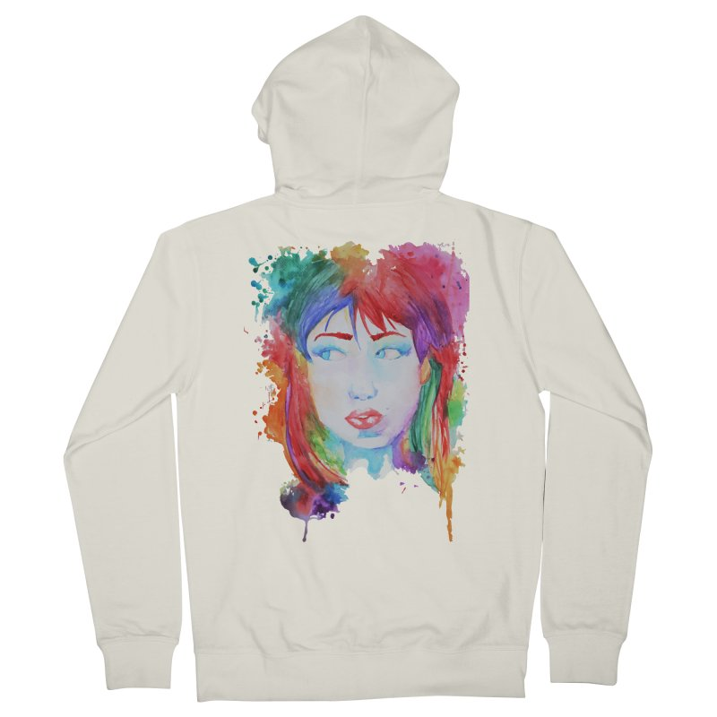 Electric Gal Men's French Terry Zip-Up Hoody by Kaela's Shop