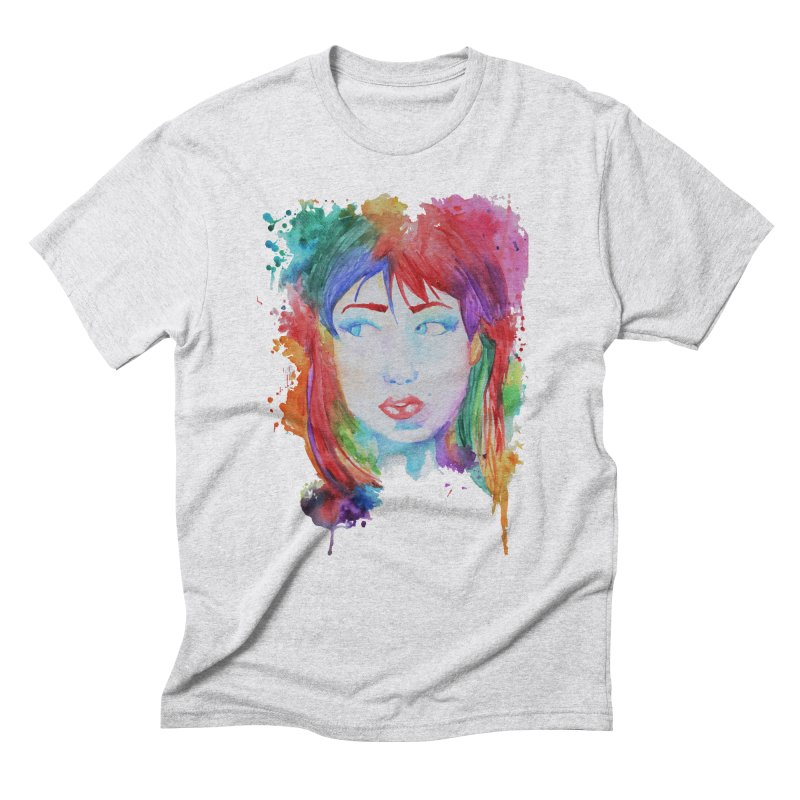 Electric Gal Men's Triblend T-Shirt by Kaela's Shop