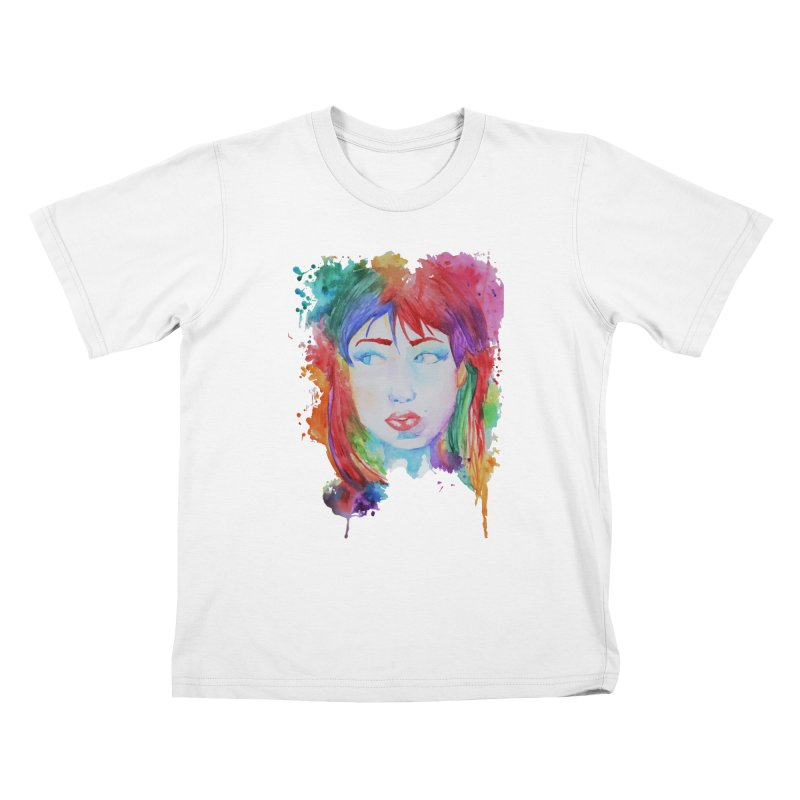 Electric Gal Kids T-shirt by Kaela's Shop