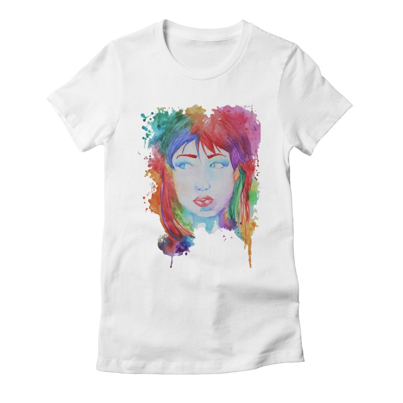 Electric Gal Women's Fitted T-Shirt by Kaela's Shop