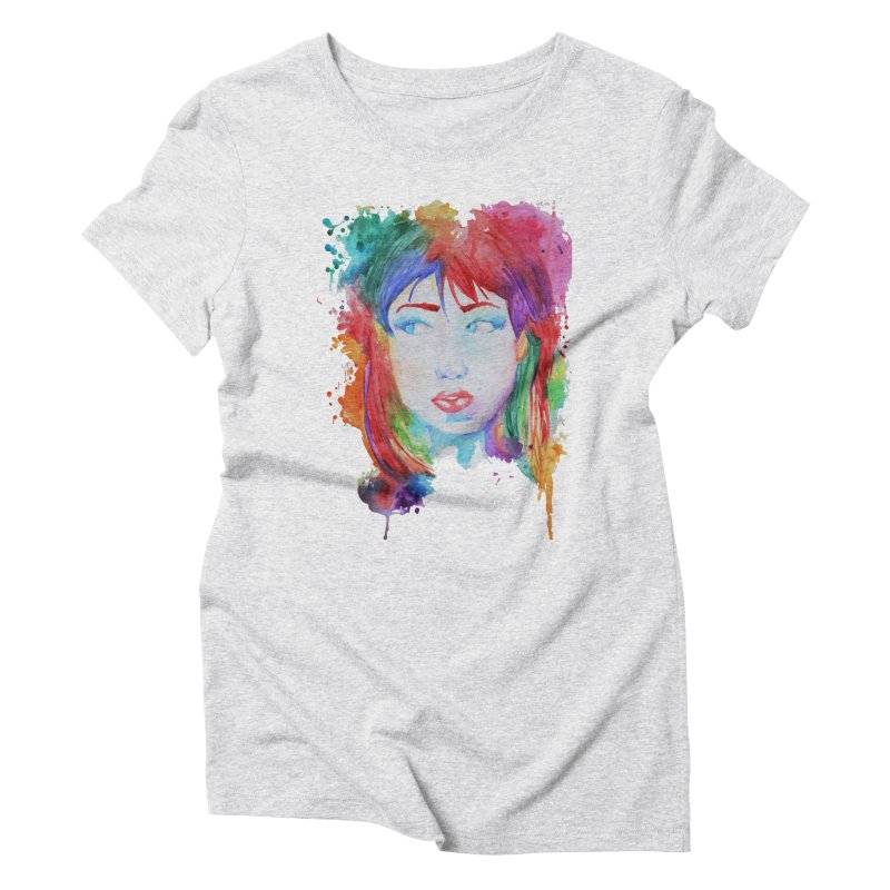 Electric Gal Women's Triblend T-Shirt by Kaela's Shop