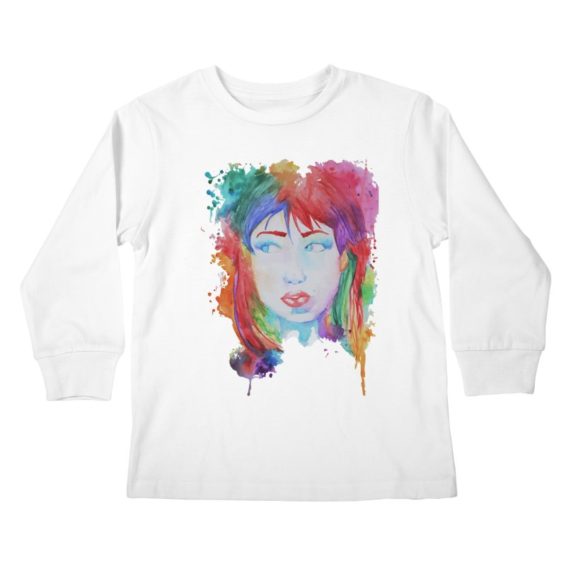 Electric Gal Kids Longsleeve T-Shirt by Kaela's Shop