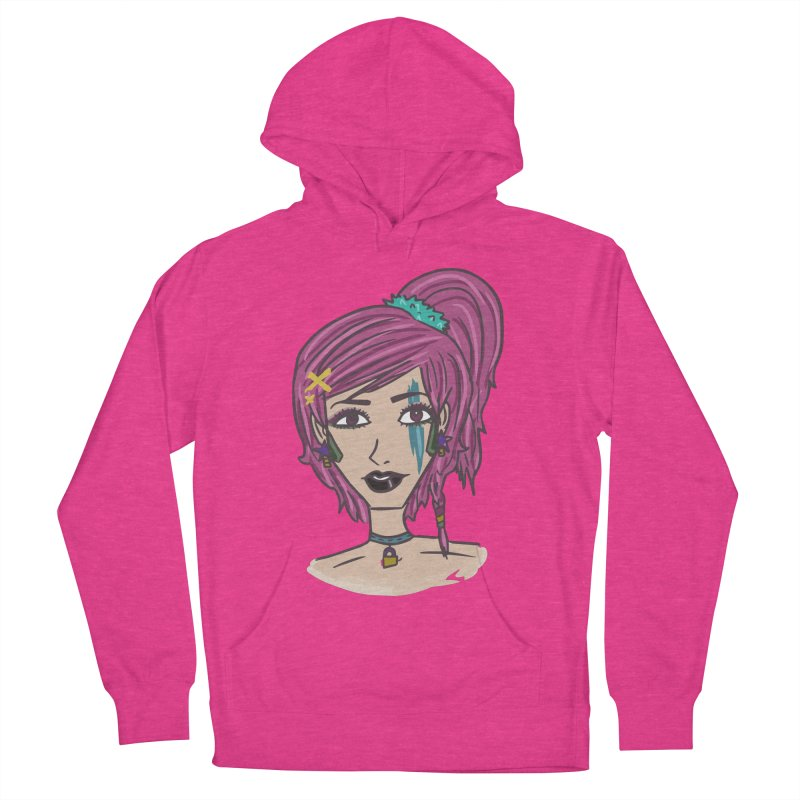 Aleksa Zip Women's Pullover Hoody by Kaela's Shop
