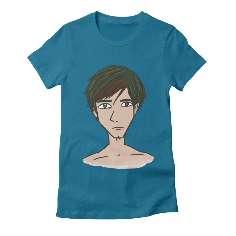 Kaden Space Women's Fitted T-Shirt by Kaela's Shop