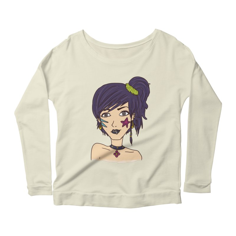 Starla Anne Women's Scoop Neck Longsleeve T-Shirt by Kaela's Shop