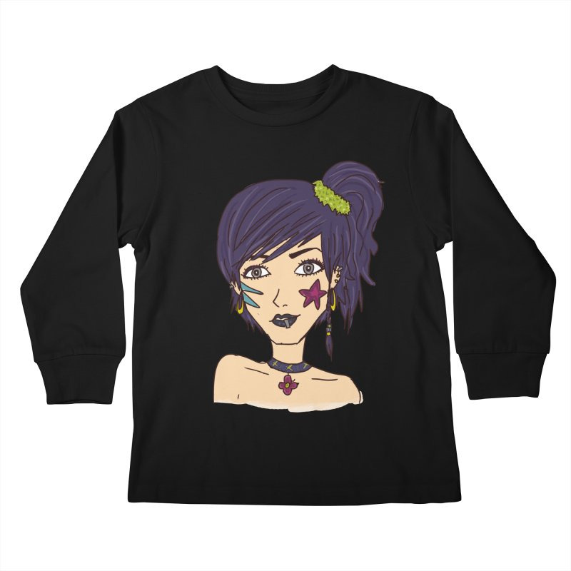 Starla Anne Kids Longsleeve T-Shirt by Kaela's Shop