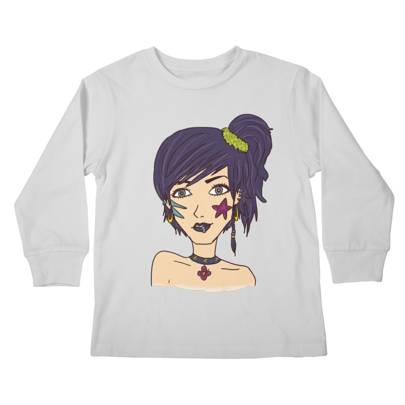 Starla Anne Kids Longsleeve T-Shirt by Kaela's Shop