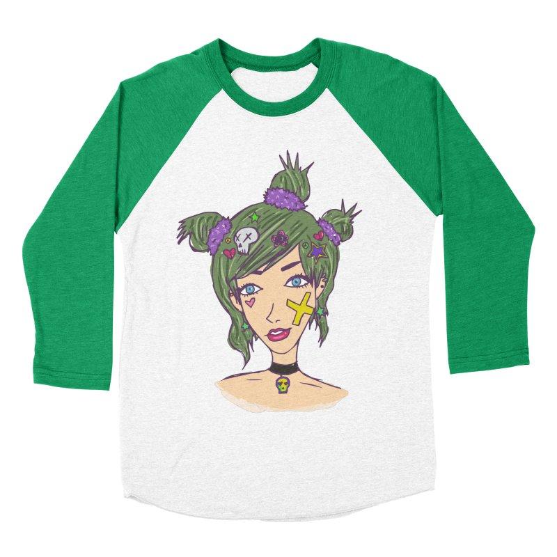 Sage Forks Women's Baseball Triblend Longsleeve T-Shirt by Kaela's Shop