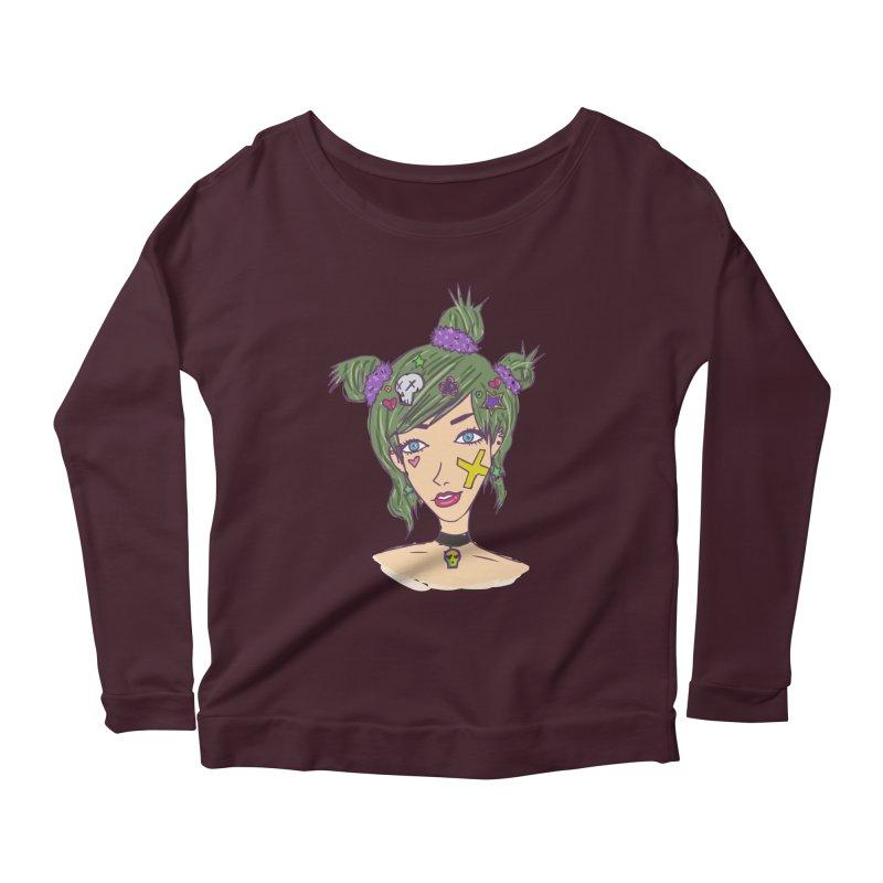 Sage Forks Women's Scoop Neck Longsleeve T-Shirt by Kaela's Shop