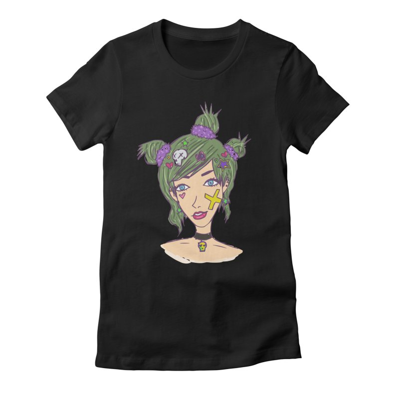 Sage Forks Women's Fitted T-Shirt by Kaela's Shop