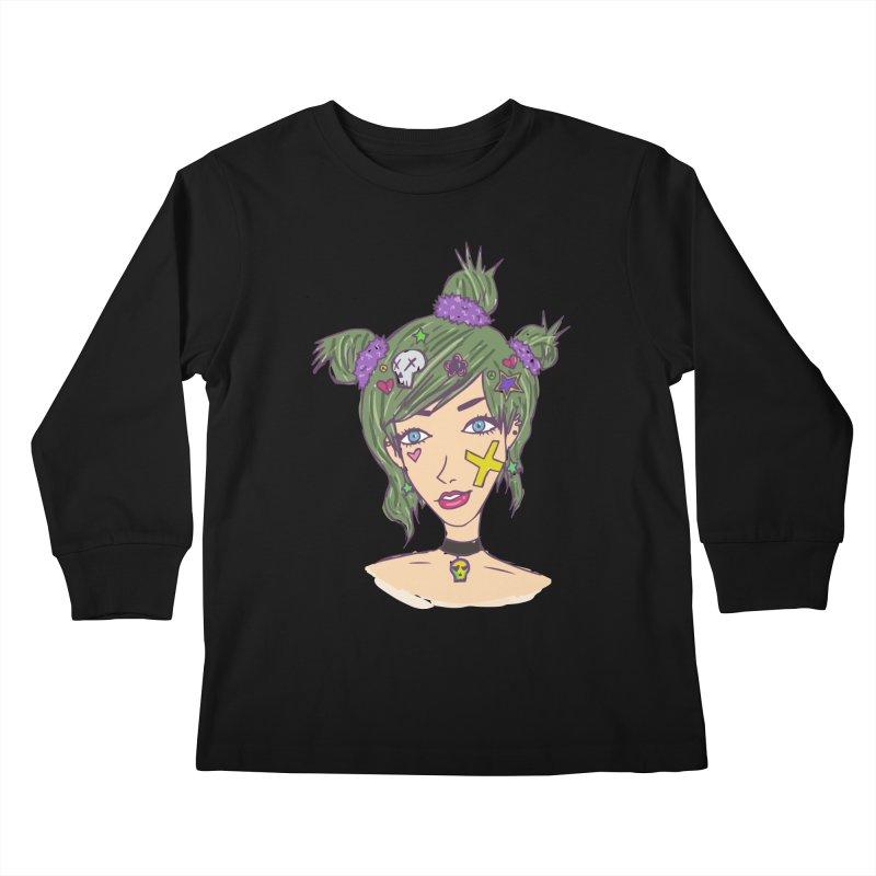 Sage Forks Kids Longsleeve T-Shirt by Kaela's Shop