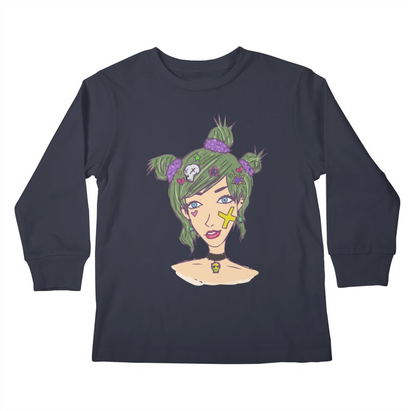 Sage Forks Kids Longsleeve T-Shirt by Kaela's Shop