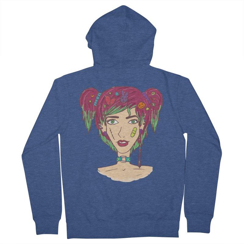 Roxy Fliss Women's French Terry Zip-Up Hoody by Kaela's Shop